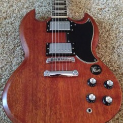 Gibson Sg Epiphone Split System Wiring Diagram 2004 1961 Ri G 400 Worn Brown Made In Korea