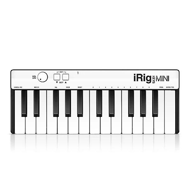 IK Multimedia iRig Keys MINI 25 key universal keyboard