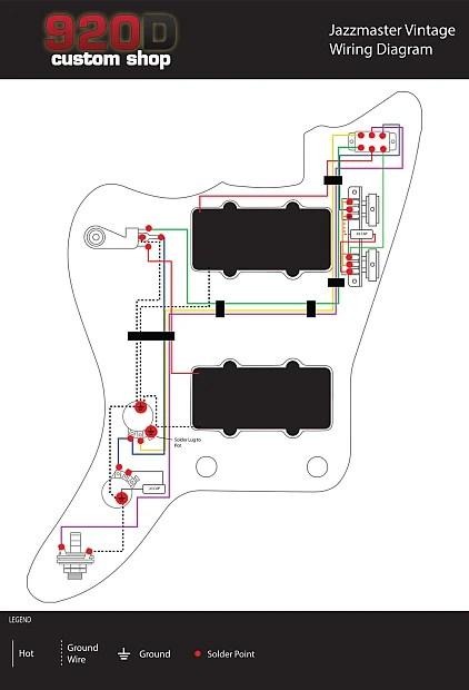 Modern Jazzmaster Wiring Diagram