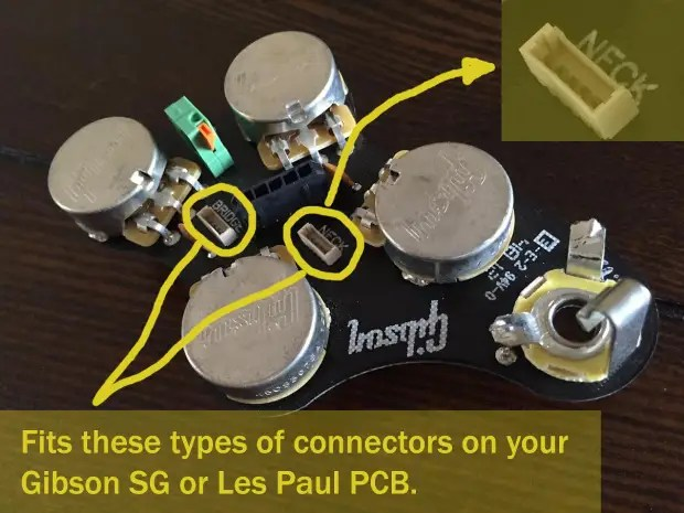 pickup wiring diagram seymour duncan honda 125 motorcycle 2 quick-connect adapters for gibson, duncan, | reverb