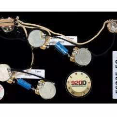 Gibson 335 Wiring Diagram Class Of Restaurant Management System Prewired Es Harness For Cts Switchcraft