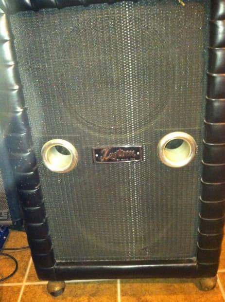 Vintage Kustom 200 b Bass Head and Cab  Reverb