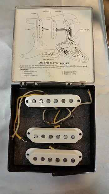 Texas Special Pickups Wiring Diagram