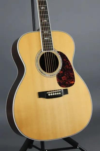 USED Martin J40 Jumbo Acoustic Electric Guitar Natural