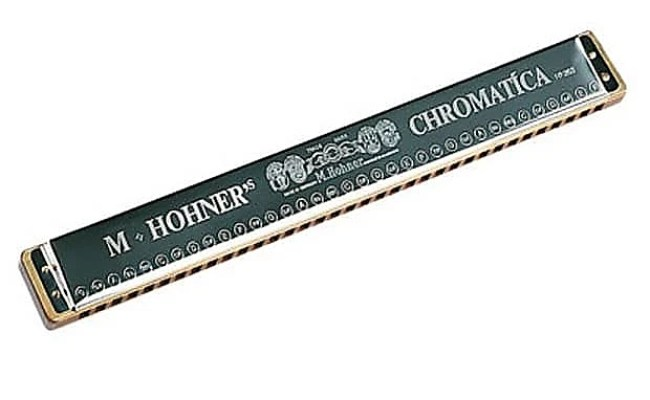 Hohner 263 Orchestral Chromatica Chromatic Harmonica Free