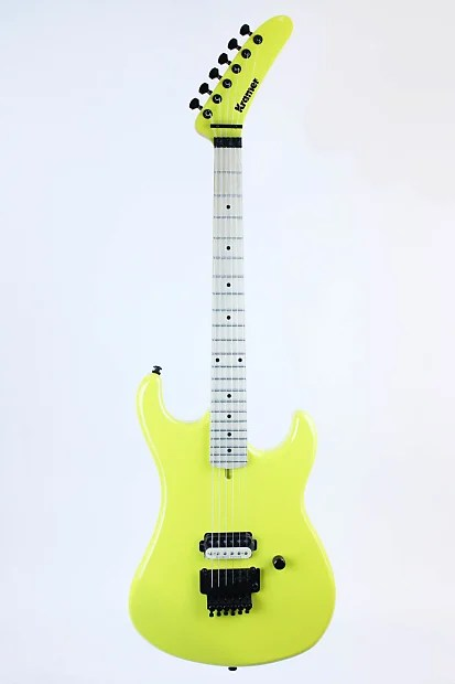 Kramer 3984 Baretta Electric Guitar Banana Yellow 00265