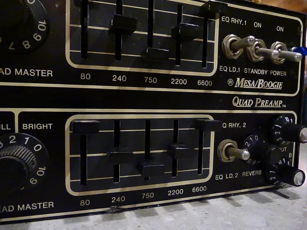 Mesa Boogie Quad Preamp  Reverb