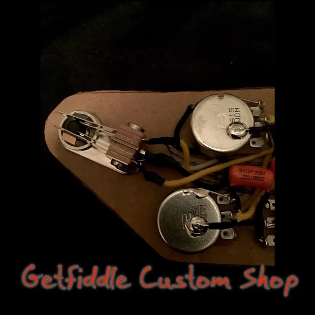 This Kit Is Wired To A Modern Gibson Sg Wiring Schematic