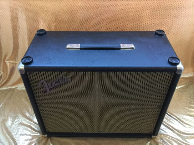 Fender 1 X 12 Speaker Cabinet GE112 Made In USA Black
