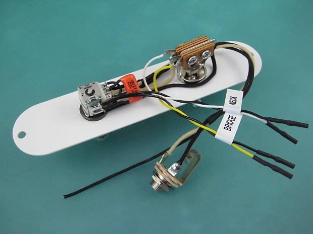Telecaster Cabronita Pawn Shop Volume Amp Tone Mod Wiring