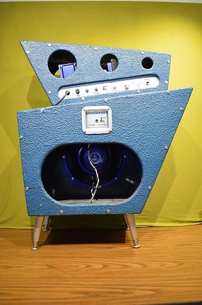 Electrosonic Nautilus 2006 Blue SciFi Handwired 18 Watt