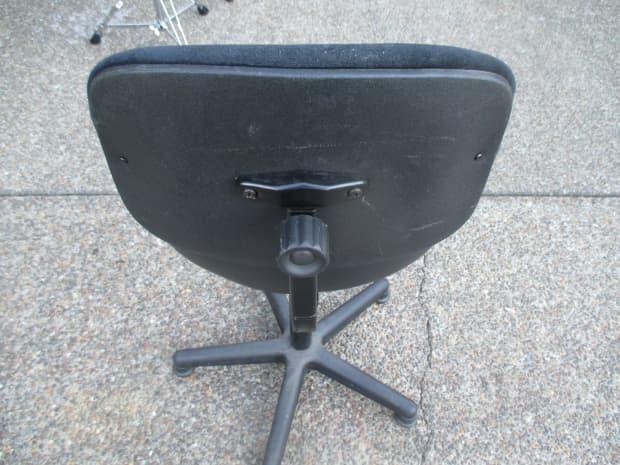 Roc N Soc Lumar Series Gas Lift Drum Throne WBackrest