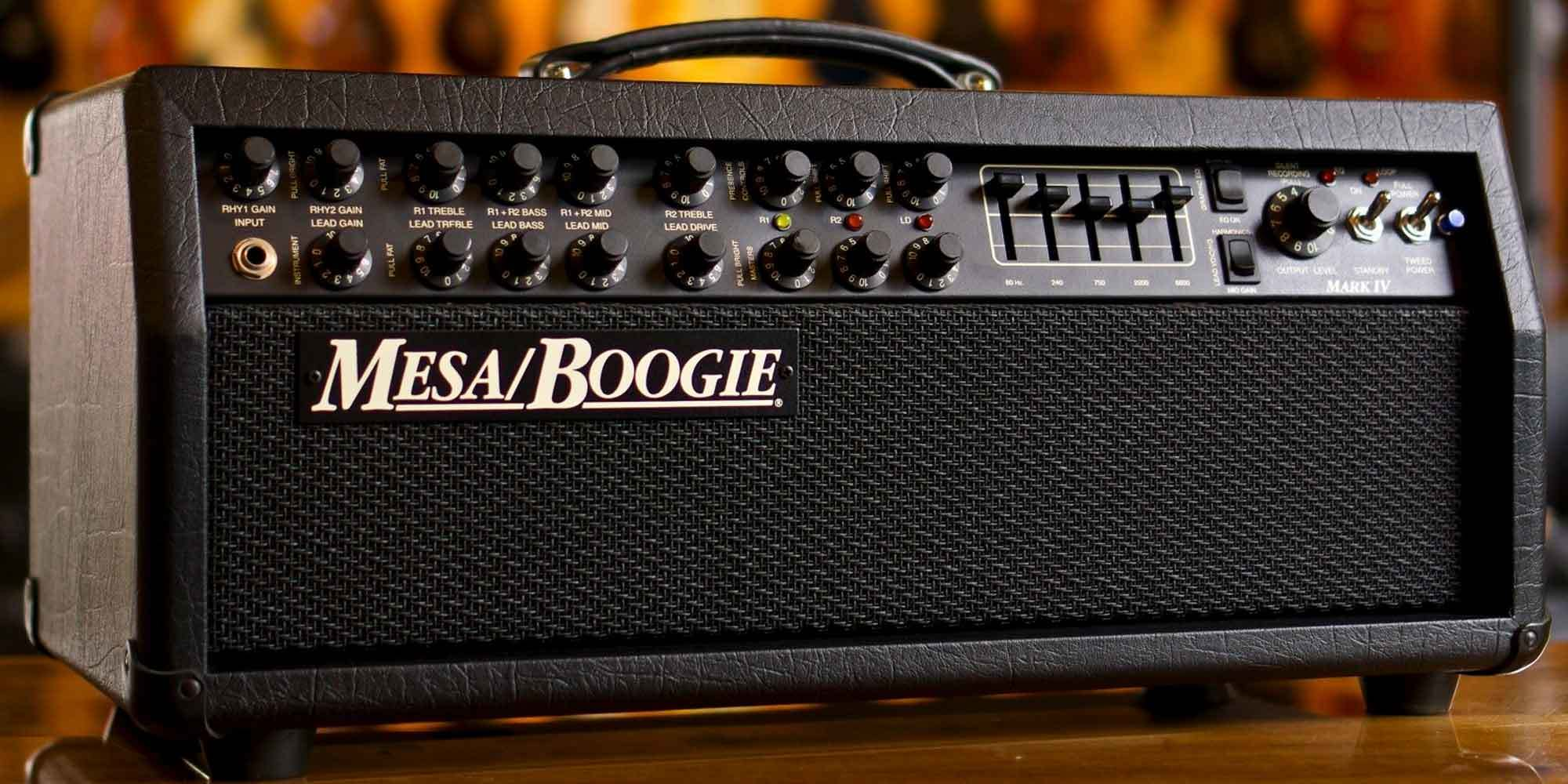 A Brief History of MesaBoogie Amplifiers  Reverb