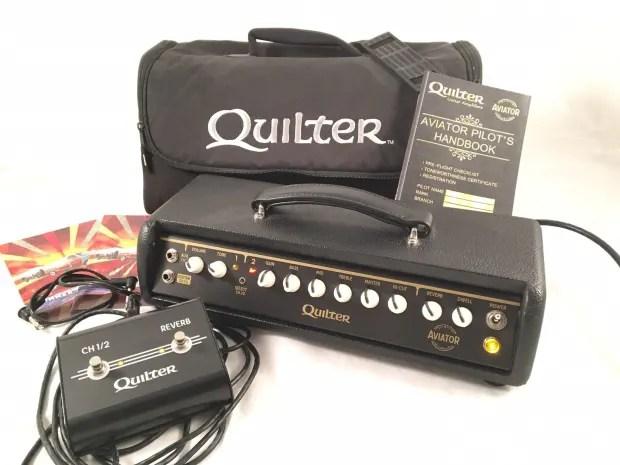 Quilter Aviator Gold Guitar Amplifier Head