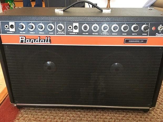 Vintage 200w Randall Commander 210  Reverb