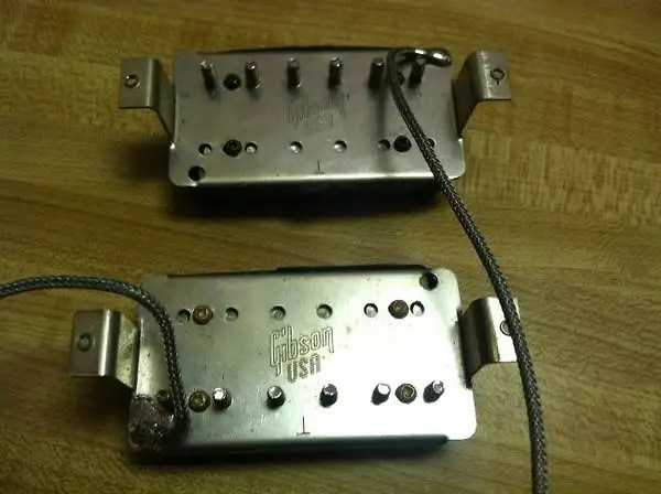 Gibson 57 Humbucker Wiring Diagram