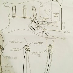 Fender Stratocaster Tbx Wiring Diagram For 4 Way Flat Trailer Connector Eric Clapton Loaded Pickguard Vintage Noiseless | Reverb