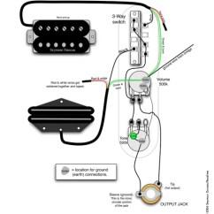 Fender Mustang Guitar Wiring Diagram Domestic Switchboard Tele Telecaster 3 Way Harness 500k Long Shaft | Reverb