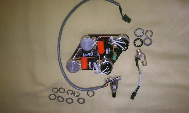 Les Paul Pots Wiring 3 Way Switch Coil Taps Solderless 2014 Image