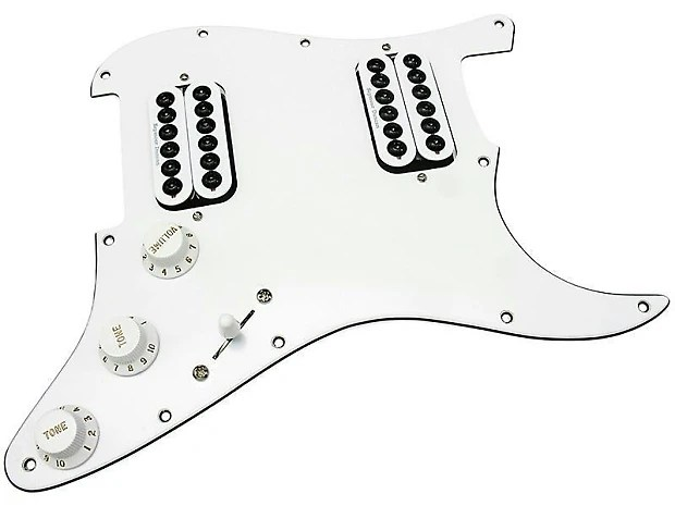 HDCustom Loaded Stratocaster Pickguard, Seymour Duncan