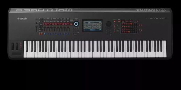 Yamaha Montage 8 88-key Flagship Synthesizer Reverb