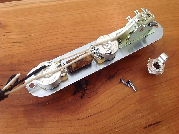 Standard Telecaster Wiring