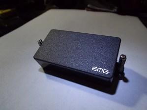EMG 81 Black Active Guitar Humbucker Pickup with quick