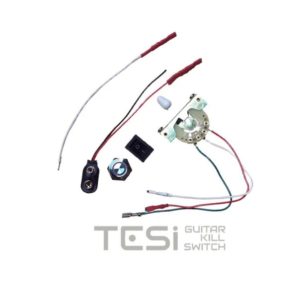 Tesi ARGO 16MM Color Changing LED Momentary Guitar Kill