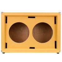 EMPTY GUITAR SPEAKER CABINET 2x12 Cab 212 Orange Tolex ...