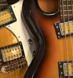 a brief history of the univox hi flier guitar [ 2000 x 1000 Pixel ]