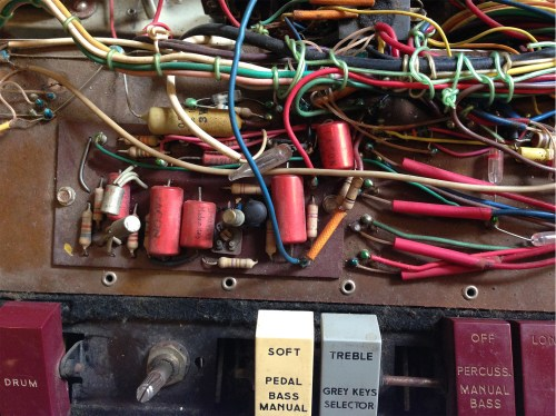 small resolution of 8 part of the percussion envelope circuitry in a farfisa compact deluxe