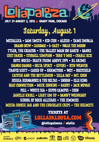 Lollapalooza Saturday