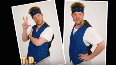 Ted Dwane as T.D.
