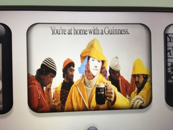 Took the opportunity to add ourselves into some famous Guinness advertisements