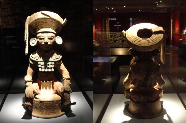 Maya figurines, 2