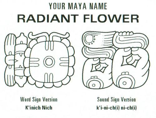 My Mayan Name