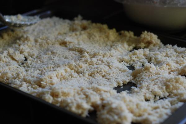 Shredded horseradish