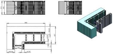 bloc d'angle 90 - 180mm