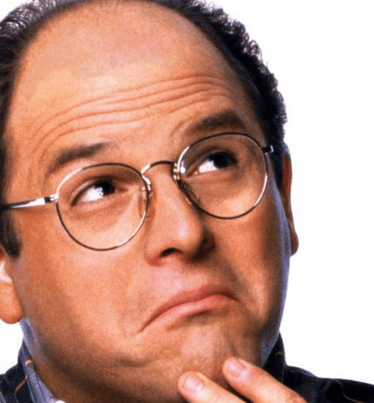george costanza was channeling