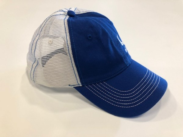 Blue White Mesh White Side Logo2