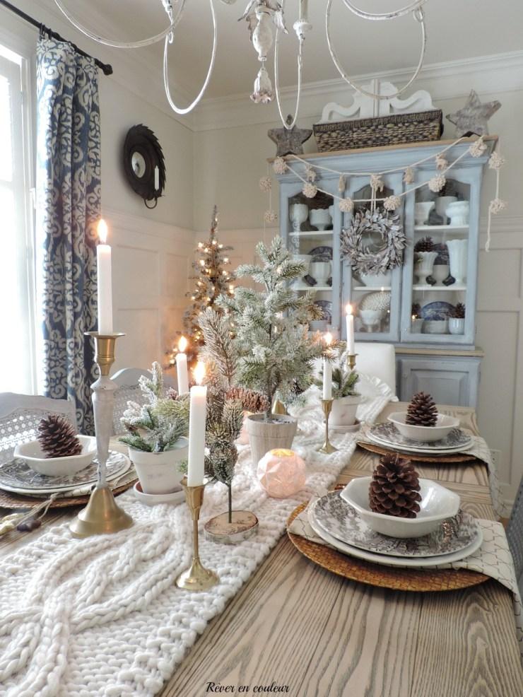 Christmas dining room 2018