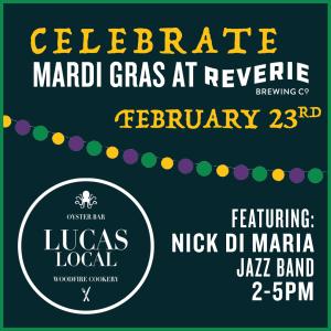 Celebrate Mardi Gras at Reverie