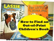 How to Find an Out-of-Print Children's Book