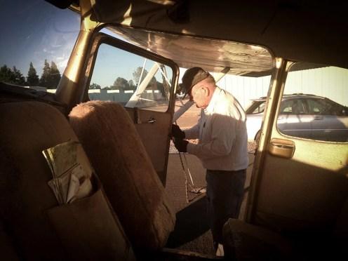 Bill Nixon our pilot