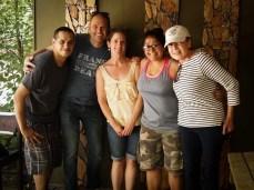 Steven, Ramon, Tamara, Anjali and Rommie