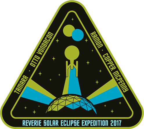 Reverie Solar Eclipse mission patch