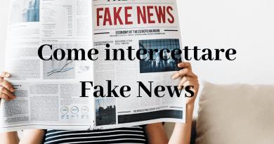 Come intercettare Fake News