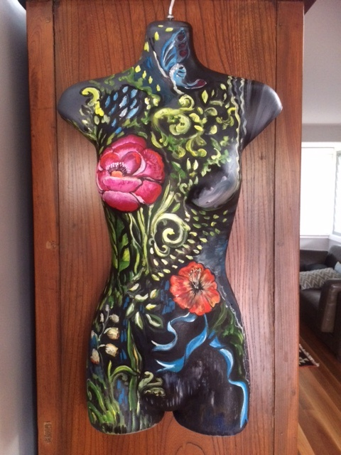 Decorate mannequin
