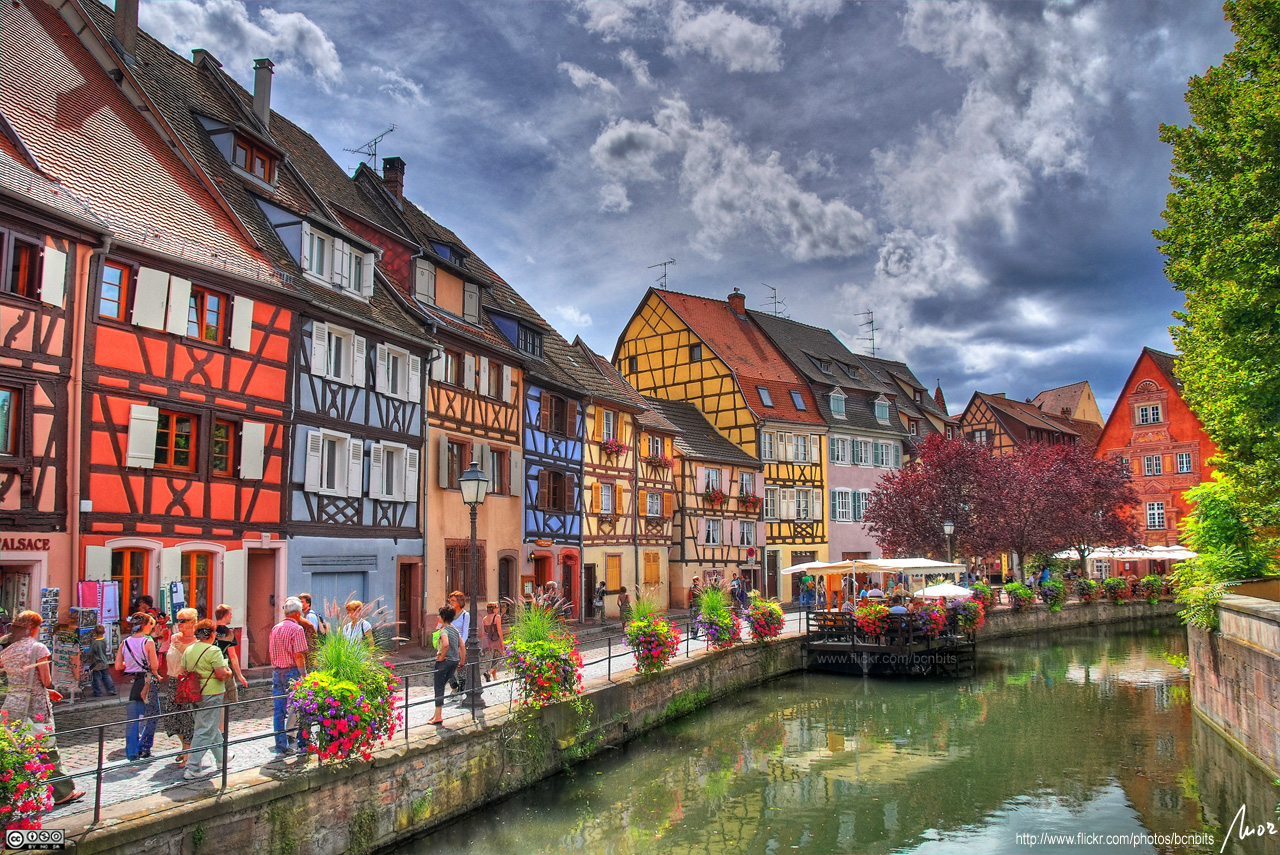 Most Beautiful Town In France Colmar In Alsace