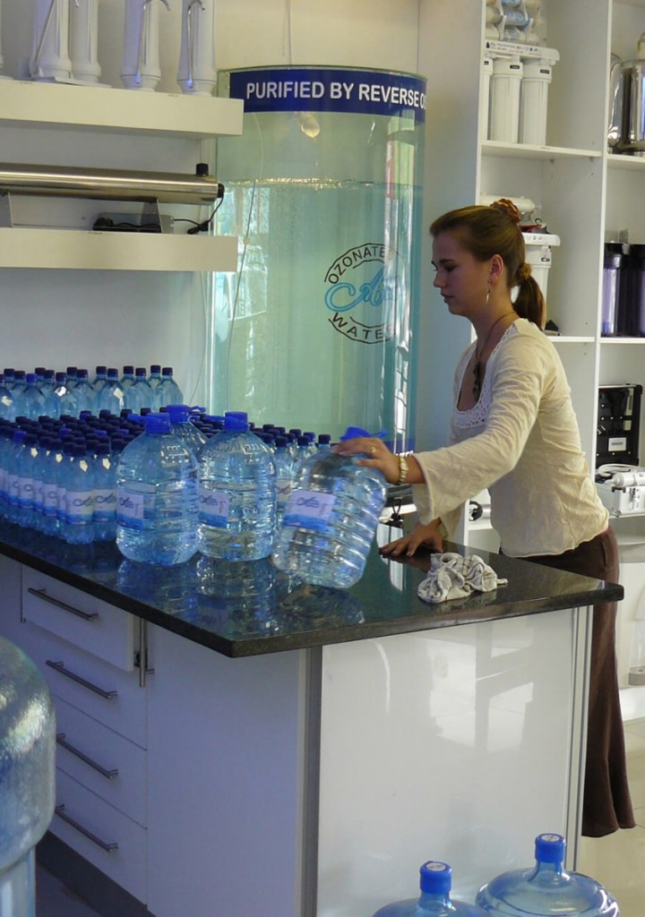Water Bar In A Water Shop